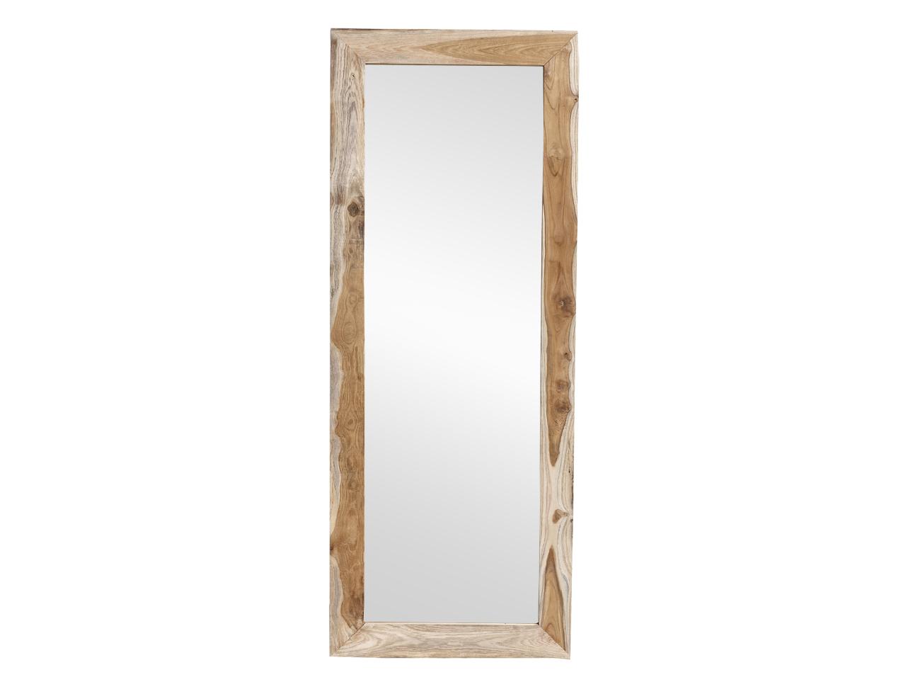 Зеркало NATURAНастенные зеркала<br>Зеркало обрамлено массивной рамой из тикового дерева.&amp;amp;nbsp;<br><br>Material: Тик<br>Ширина см: 70<br>Высота см: 180<br>Глубина см: 3