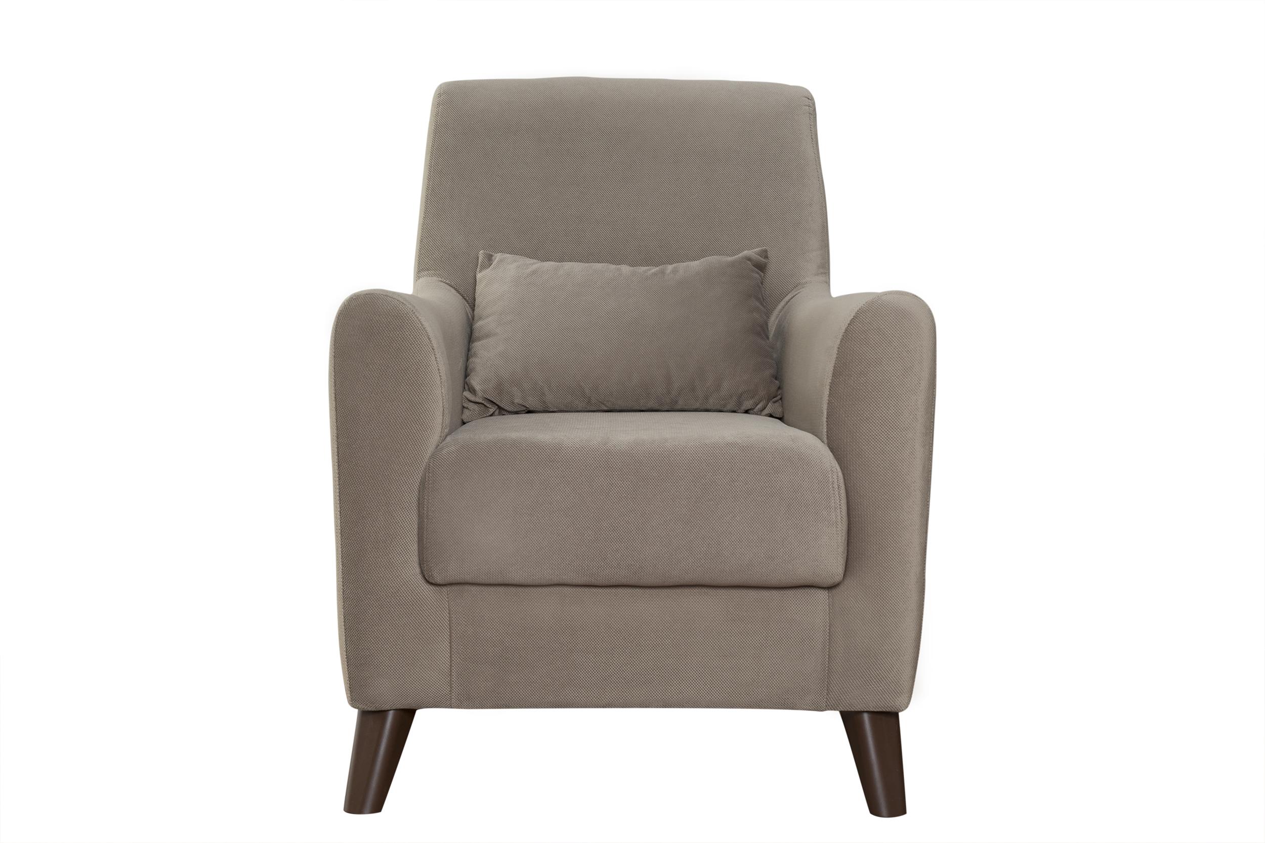 КреслоИнтерьерные кресла<br>&amp;lt;div&amp;gt;Каркас кресла выполнен из ЛДСП, фанеры, деревянного бруса.&amp;amp;nbsp;&amp;lt;/div&amp;gt;&amp;lt;div&amp;gt;Элементы сиденья и спальная часть из ППУ.&amp;amp;nbsp;&amp;lt;/div&amp;gt;&amp;lt;div&amp;gt;Наполнитель подушек – полиэфирное волокно и крошка ППУ.&amp;amp;nbsp;&amp;lt;/div&amp;gt;&amp;lt;div&amp;gt;Опоры – пластик.&amp;lt;/div&amp;gt;&amp;lt;div&amp;gt;Декоративная отстрочка.&amp;lt;/div&amp;gt;&amp;lt;div&amp;gt;&amp;lt;br&amp;gt;&amp;lt;/div&amp;gt;&amp;lt;div&amp;gt;Размеры мебели могут отличаться от заявленных в пределах 3 см.&amp;amp;nbsp;&amp;lt;/div&amp;gt;&amp;lt;div&amp;gt;В связи с постоянной работой над усовершенствованием моделей, фабрика оставляет за собой право внесения изменений в модели.&amp;amp;nbsp;&amp;lt;/div&amp;gt;&amp;lt;div&amp;gt;Небольшие недоразумения не исключаются.&amp;lt;/div&amp;gt;&amp;lt;div&amp;gt;Фотографии тканей могут отличаться от реальных цветов.&amp;amp;nbsp;&amp;lt;/div&amp;gt;&amp;lt;div&amp;gt;При заказе мебели обязательно смотрите на образцы тканей.&amp;lt;/div&amp;gt;<br><br>Material: Текстиль<br>Ширина см: 75<br>Высота см: 89<br>Глубина см: 87