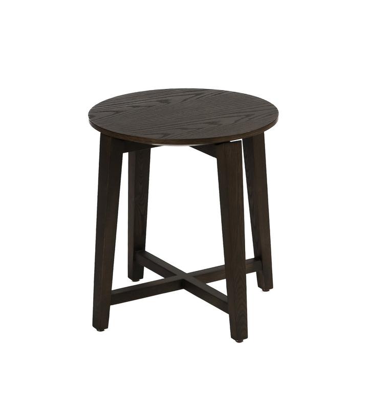 Журнальный столЖурнальные столики<br>&amp;lt;div&amp;gt;Журнальный столик из темного дерева в оригинальной обработке станет многоликим объектом интерьера. Его можно использовать в качестве журнального или кофейного варианта, табурета или подставки. Круглая столешница скреплена четырьмя ножками - брусками. Темная краска подчеркивает натуральную фактуру дерева. Идеально подойдет для пространств в стиле кантри и лофт.&amp;lt;/div&amp;gt;&amp;lt;div&amp;gt;&amp;lt;br&amp;gt;&amp;lt;/div&amp;gt;&amp;lt;br&amp;gt;<br><br>Material: Дерево<br>Length см: None<br>Width см: None<br>Height см: 46<br>Diameter см: 40