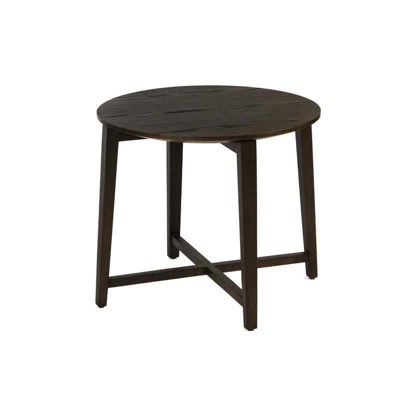 Журнальный столЖурнальные столики<br>Столик из натурального дерева, идеально тонирован по всей поверхности в шоколадный цвет. &amp;amp;nbsp;Его форма, заимствованная от классического табурета, придает легкости и простоты внешнему виду. &amp;amp;nbsp;Круглую столешницу держат четыре ножки-бруски, скрепленные дополнительными перекладинами. Такой столик станет &amp;quot;своим&amp;quot; в лофтовых и кантри пространствах или марокканском интерьере.<br><br>Material: Дерево<br>Length см: None<br>Width см: None<br>Height см: 53<br>Diameter см: 60