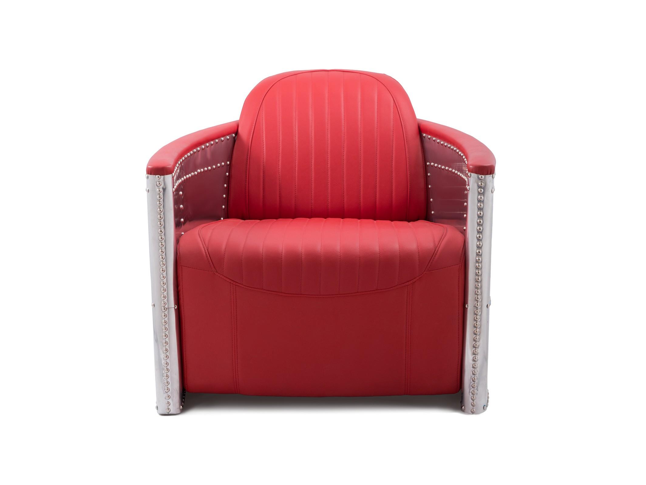 Кресло AviatoreИнтерьерные кресла<br><br><br>Material: Кожа<br>Ширина см: 83<br>Высота см: 79<br>Глубина см: 100