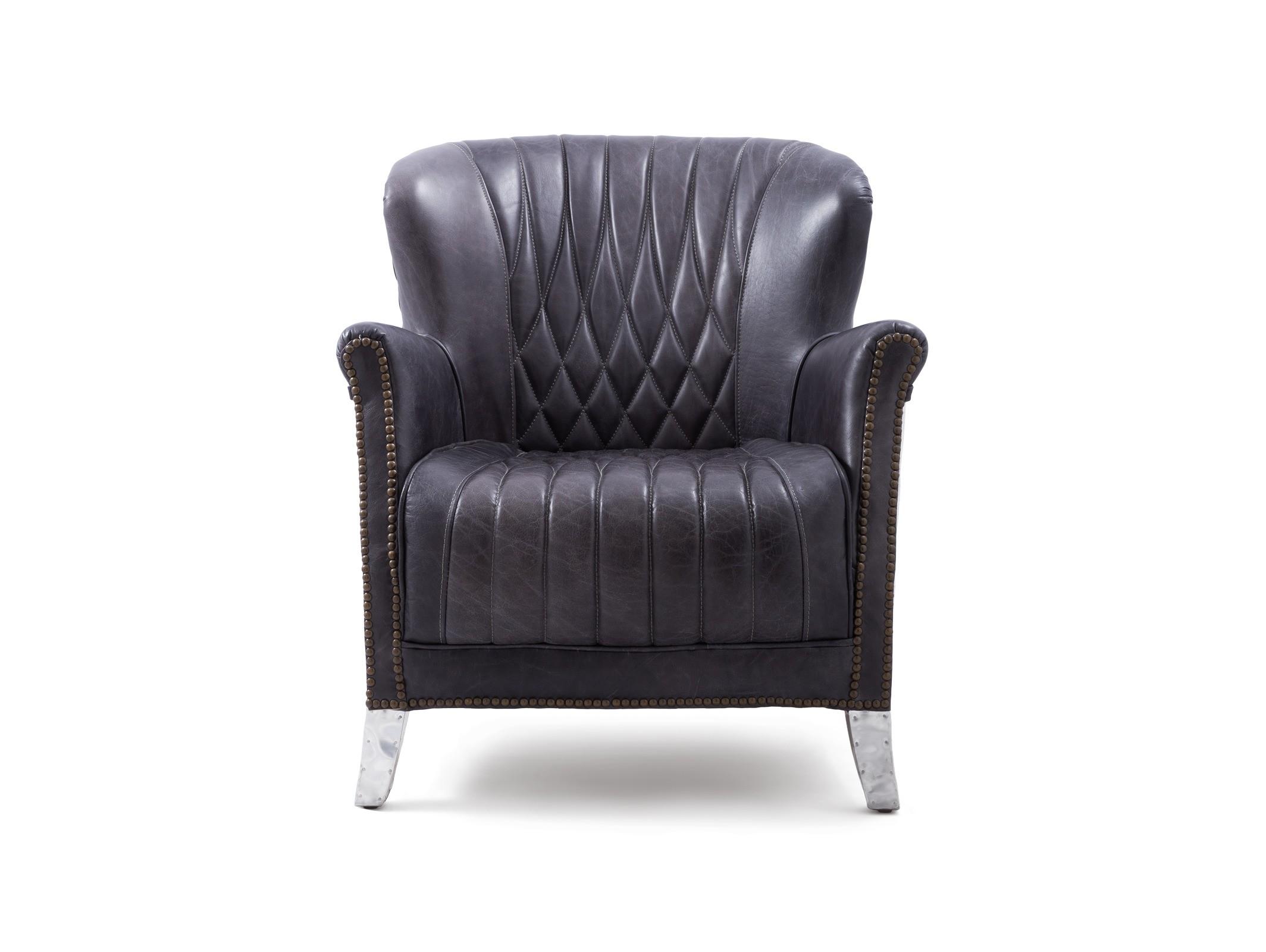 Кресло DenderИнтерьерные кресла<br><br><br>Material: Кожа<br>Ширина см: 74<br>Высота см: 78<br>Глубина см: 80