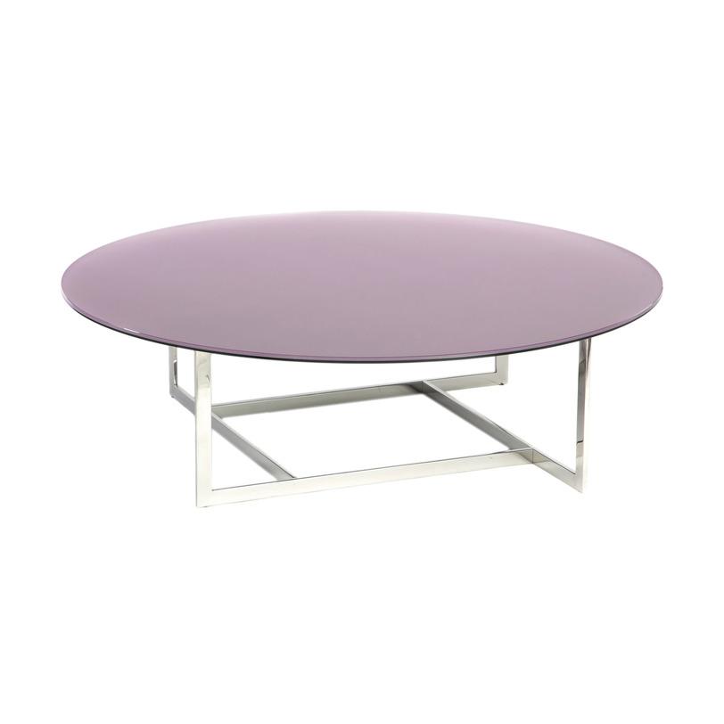 Журнальный стол WoodstockЖурнальные столики<br>Оригинальный дизайн, стильное сочетание материалов – вот что делает этот журнальный столик таким привлекательным. Экстравагантное основание из хромированного металла выглядит очень лёгким, оно поддерживает круглую столешницу из слоистого матового стекла. Эта модель будет органично смотреться в интерьере в стиле «лофт».<br>Столешница: Матовое стекло серебристого цвета.<br>Основание: Хромированный металл<br><br>Material: Стекло<br>Высота см: 34