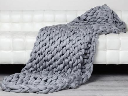 Плед zefir (zefir) серый 150.0x200.0 см.