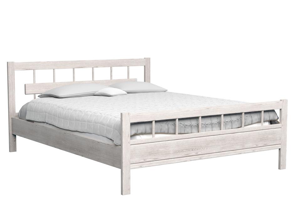 Кровать  ТрояДеревянные кровати<br>Также доступны другие цвета: коричневый, черный, красный, оранжевый. Оригинальная кровать из массива бука и ясеня<br><br>Material: Бук<br>Ширина см: 97.0<br>Высота см: 95<br>Глубина см: 198.0