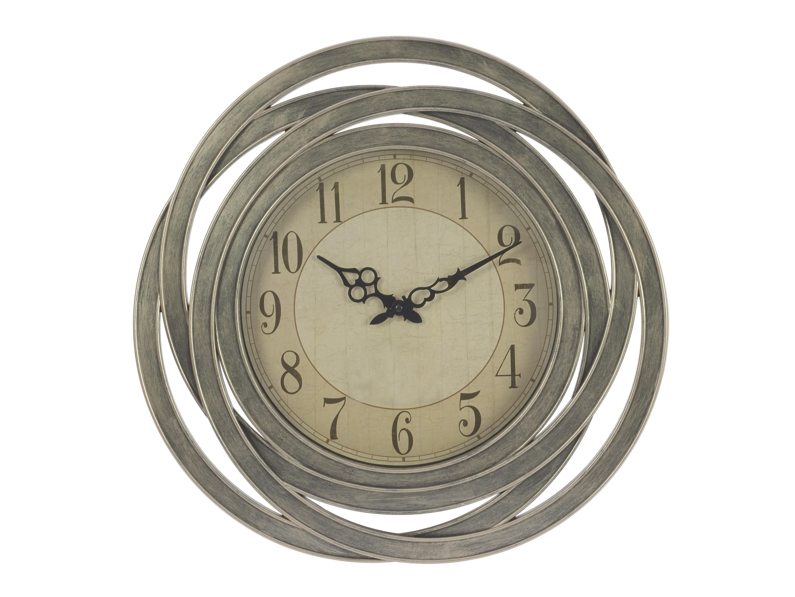 Настенные часы DouniaНастенные часы<br>Кварцевый механизм<br><br>Material: Пластик<br>Глубина см: 6.0