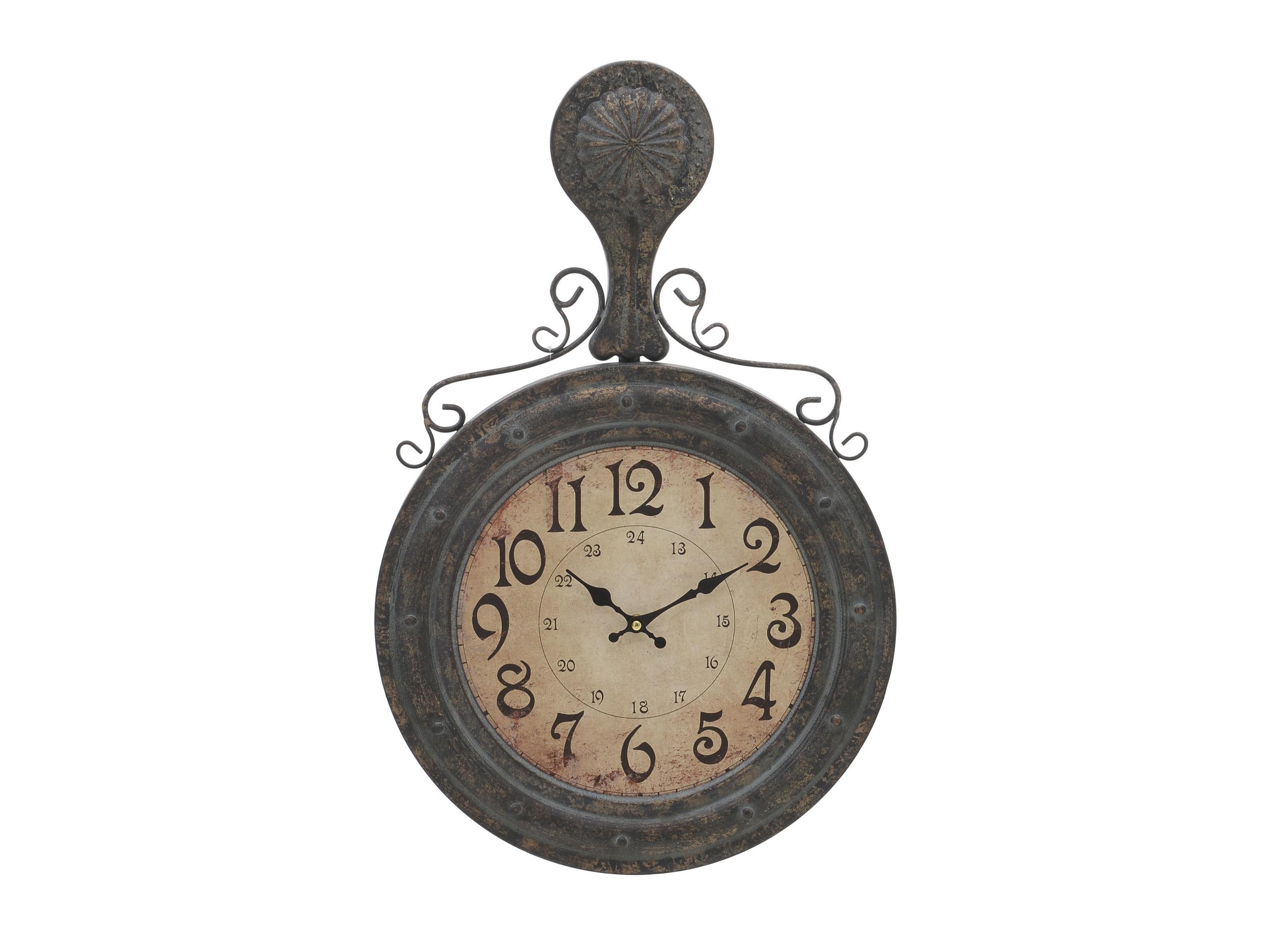 Настенные часы JohanНастенные часы<br>Кварцевый механизм<br><br>Material: Металл<br>Ширина см: 38.5<br>Высота см: 60.5<br>Глубина см: 3.5