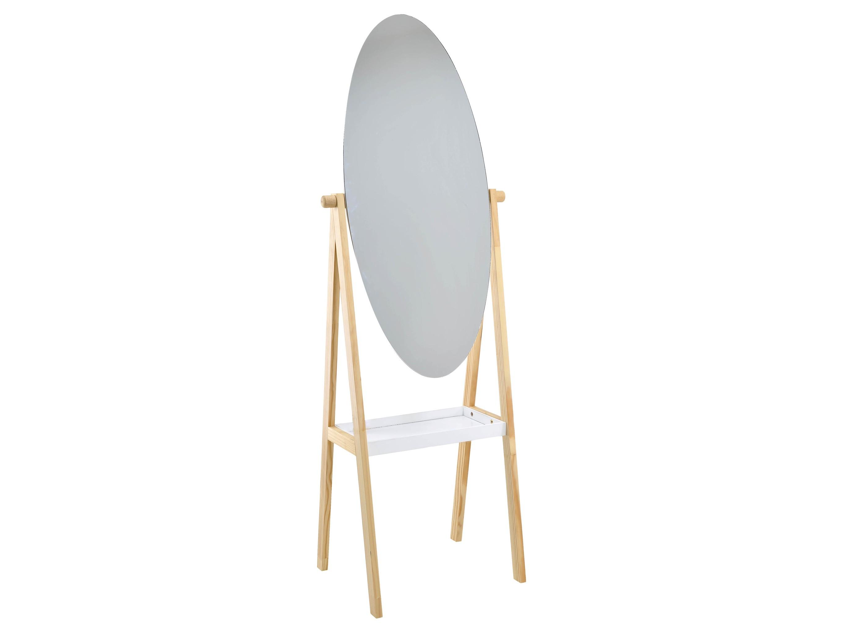 Зеркало напольное JeoffreyНапольные зеркала<br><br><br>Material: Дерево<br>Ширина см: 44.0<br>Высота см: 145.0<br>Глубина см: 40.0