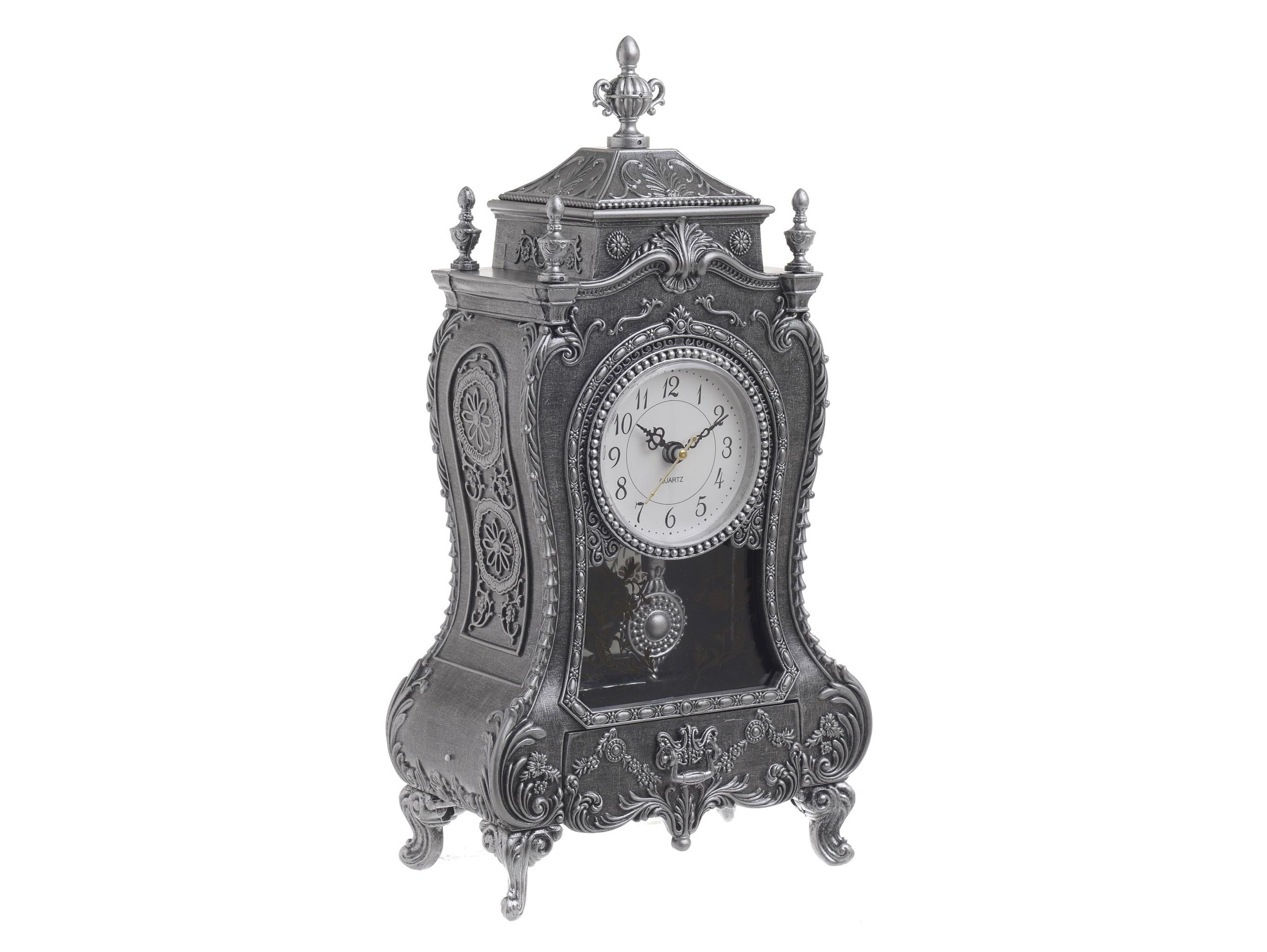 Часы музыкальные ApolineНастольные часы<br>Кварцевый механизм<br><br>Material: Полистоун<br>Ширина см: 17.0<br>Высота см: 31.5<br>Глубина см: 9.5