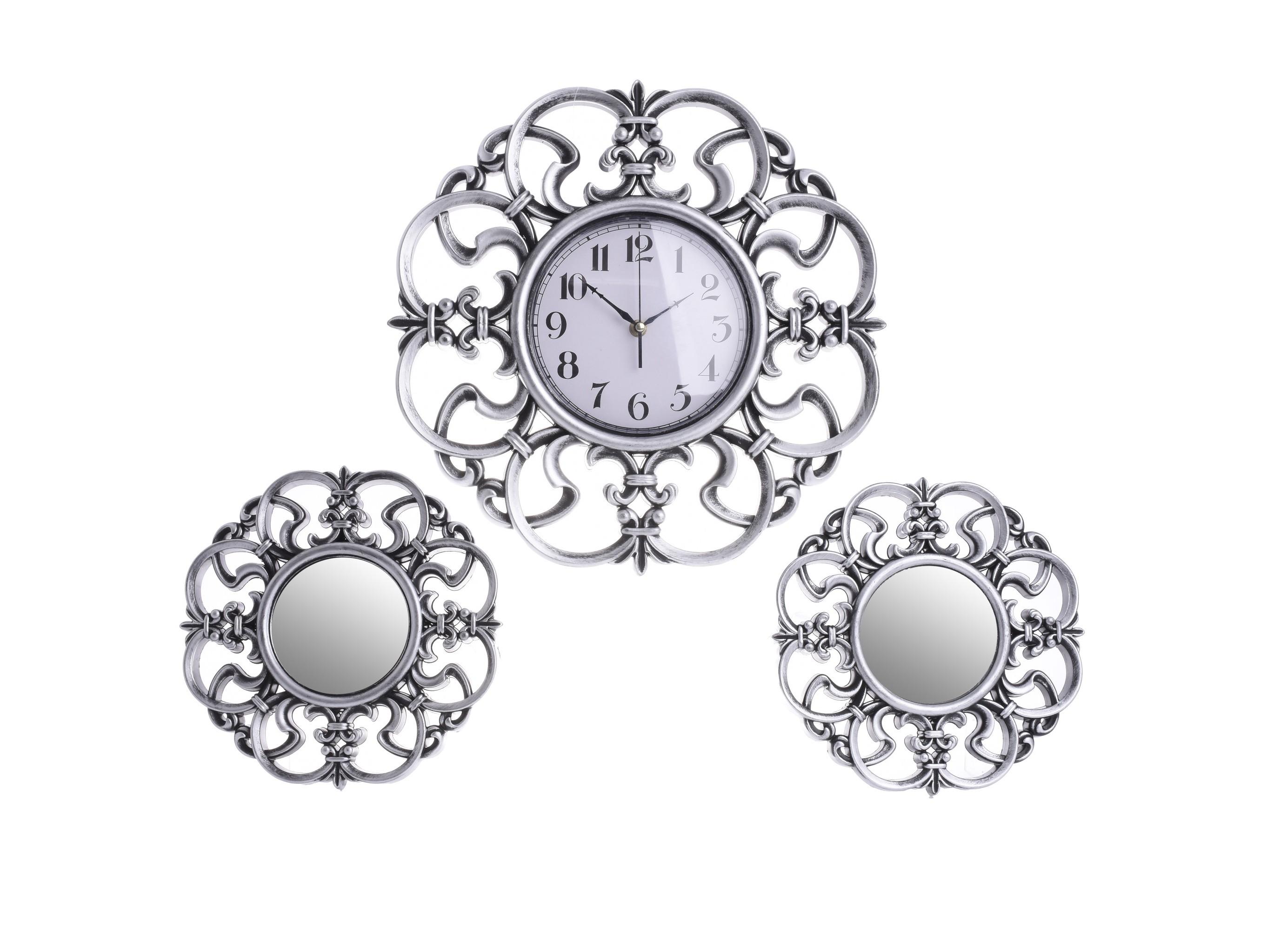 Часы настенные с двумя зеркалами A?manНастенные часы<br>Часы настенные с двумя зеркалами&amp;lt;div&amp;gt;Кварцевый механизм&amp;lt;/div&amp;gt;<br><br>Material: Пластик<br>Ширина см: 40.0<br>Высота см: 40.0<br>Глубина см: 2.0