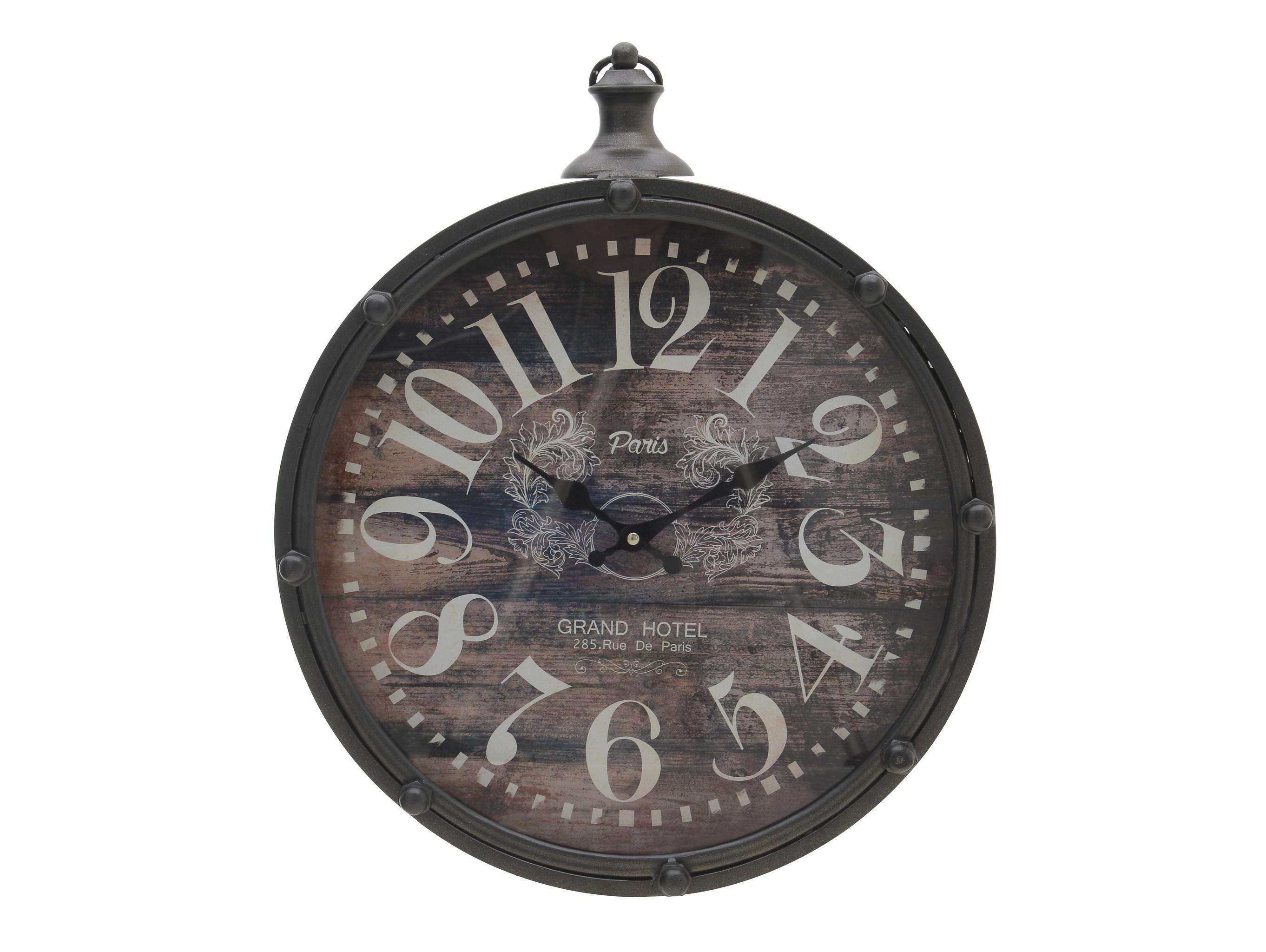 Часы настенные T?annaНастенные часы<br>Кварцевый механизм<br><br>Material: Металл<br>Глубина см: 8.0