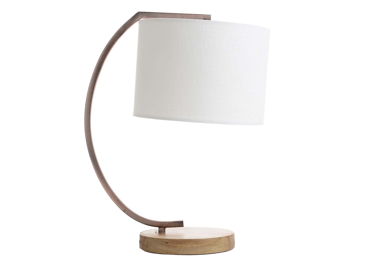 Лампа настольная Charles-HenriДекоративные лампы<br>&amp;lt;div&amp;gt;Вид цоколя: E27&amp;lt;/div&amp;gt;&amp;lt;div&amp;gt;Мощность: 60W&amp;lt;/div&amp;gt;&amp;lt;div&amp;gt;Количество ламп: 1 (нет в комплекте)&amp;lt;/div&amp;gt;&amp;lt;div&amp;gt;&amp;lt;br&amp;gt;&amp;lt;/div&amp;gt;&amp;lt;div&amp;gt;Материал: металл, дерево, полиэстер.&amp;lt;br&amp;gt;&amp;lt;/div&amp;gt;<br><br>Material: Текстиль<br>Ширина см: 33<br>Высота см: 42<br>Глубина см: 23