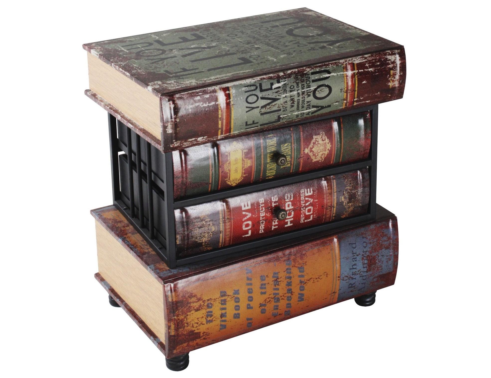 Комод  BookinistИнтерьерные комоды<br>Материал: дерево, металл, кожа.<br><br>Material: Дерево