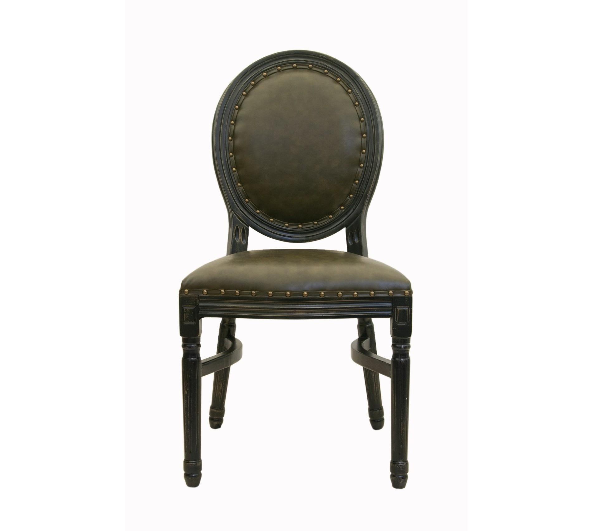Стул BendedОбеденные стулья<br>Cтул Bended с округлой спинкой напоминающей медальон, выполнен в элегантном классическом французском стиле. Основание модели выполнено из цельной породы древесины - массива каучукового дерева, искусственно состаренного. Такой стул эффектно смотрится как в контрастной, так и в однотонной обстановке.&amp;lt;div&amp;gt;&amp;lt;br&amp;gt;&amp;lt;/div&amp;gt;&amp;lt;div&amp;gt;Материал: экокожа, каучуковое дерево.&amp;lt;/div&amp;gt;&amp;lt;div&amp;gt;&amp;lt;br&amp;gt;&amp;lt;/div&amp;gt;<br><br>Material: Экокожа<br>Ширина см: 50.0<br>Высота см: 100.0<br>Глубина см: 54.0