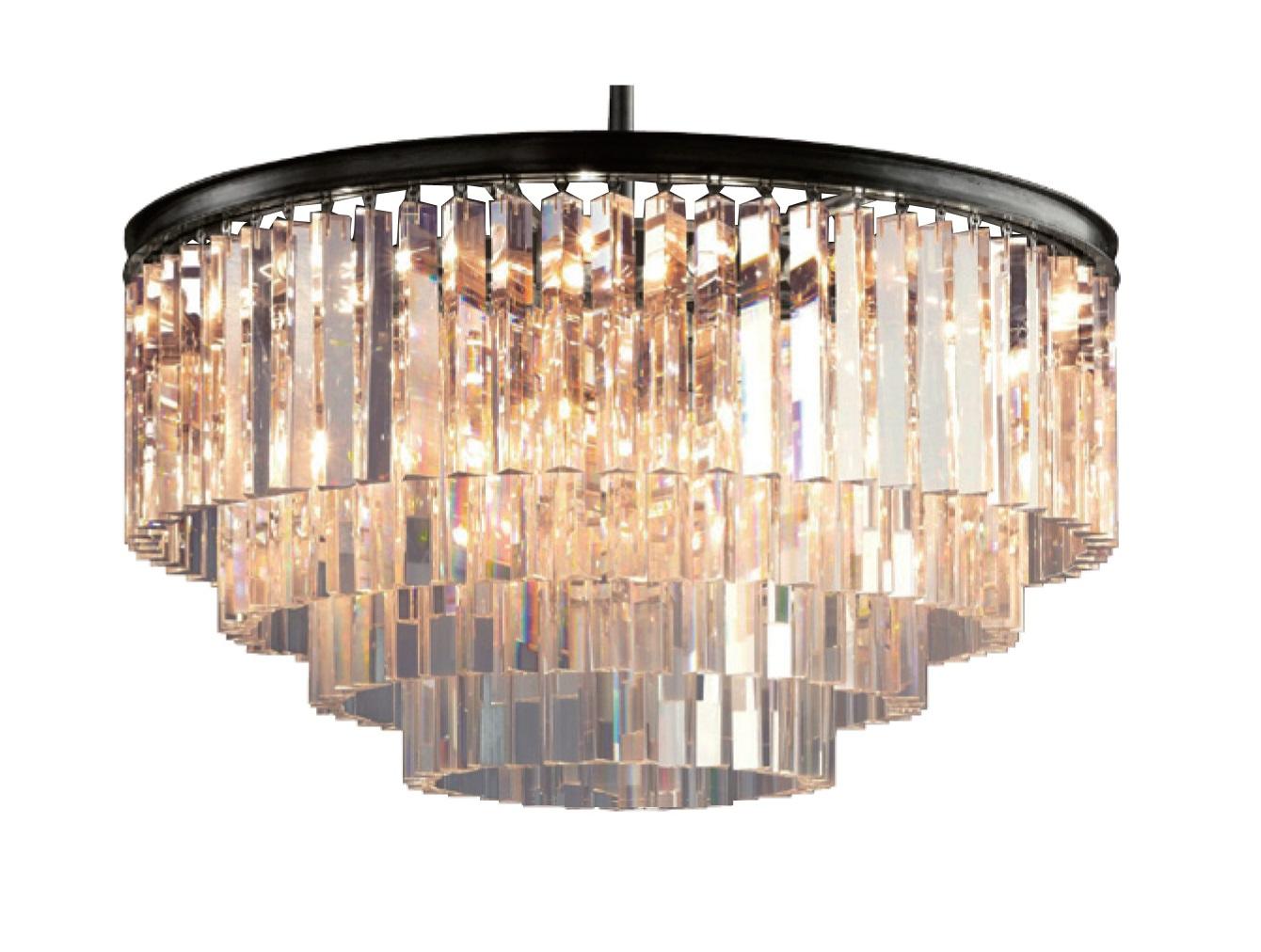 Люстра OdeonЛюстры подвесные<br>Люстра Odeon идеально подходит для классической гостиной в современном стиле. Эта люстра подчеркнет изысканность обстановки. В основе конструкции – хромированный металл со спадающими вниз длинными, тонкими полосками из прозрачного стекла. Множественные полоски из прозрачного стекла создают эффектные переливы на ее поверхности. Эта большая престижная модель оформлена в пять ярусов, между которыми плавные переходы.&amp;amp;nbsp;&amp;lt;div&amp;gt;&amp;lt;br&amp;gt;&amp;lt;/div&amp;gt;&amp;lt;div&amp;gt;&amp;lt;div&amp;gt;Вид цоколя: E14&amp;lt;/div&amp;gt;&amp;lt;div&amp;gt;Мощность: &amp;amp;nbsp;25W&amp;amp;nbsp;&amp;lt;/div&amp;gt;&amp;lt;div&amp;gt;Количество ламп: 9 (нет в комплекте)&amp;lt;/div&amp;gt;&amp;lt;div&amp;gt;&amp;lt;br&amp;gt;&amp;lt;/div&amp;gt;&amp;lt;div&amp;gt;Материал: металл, стекло.&amp;lt;/div&amp;gt;&amp;lt;div&amp;gt;Цвет: прозрачное стекло, черное основание.&amp;lt;/div&amp;gt;&amp;lt;/div&amp;gt;<br><br>Material: Стекло<br>Высота см: 50.0