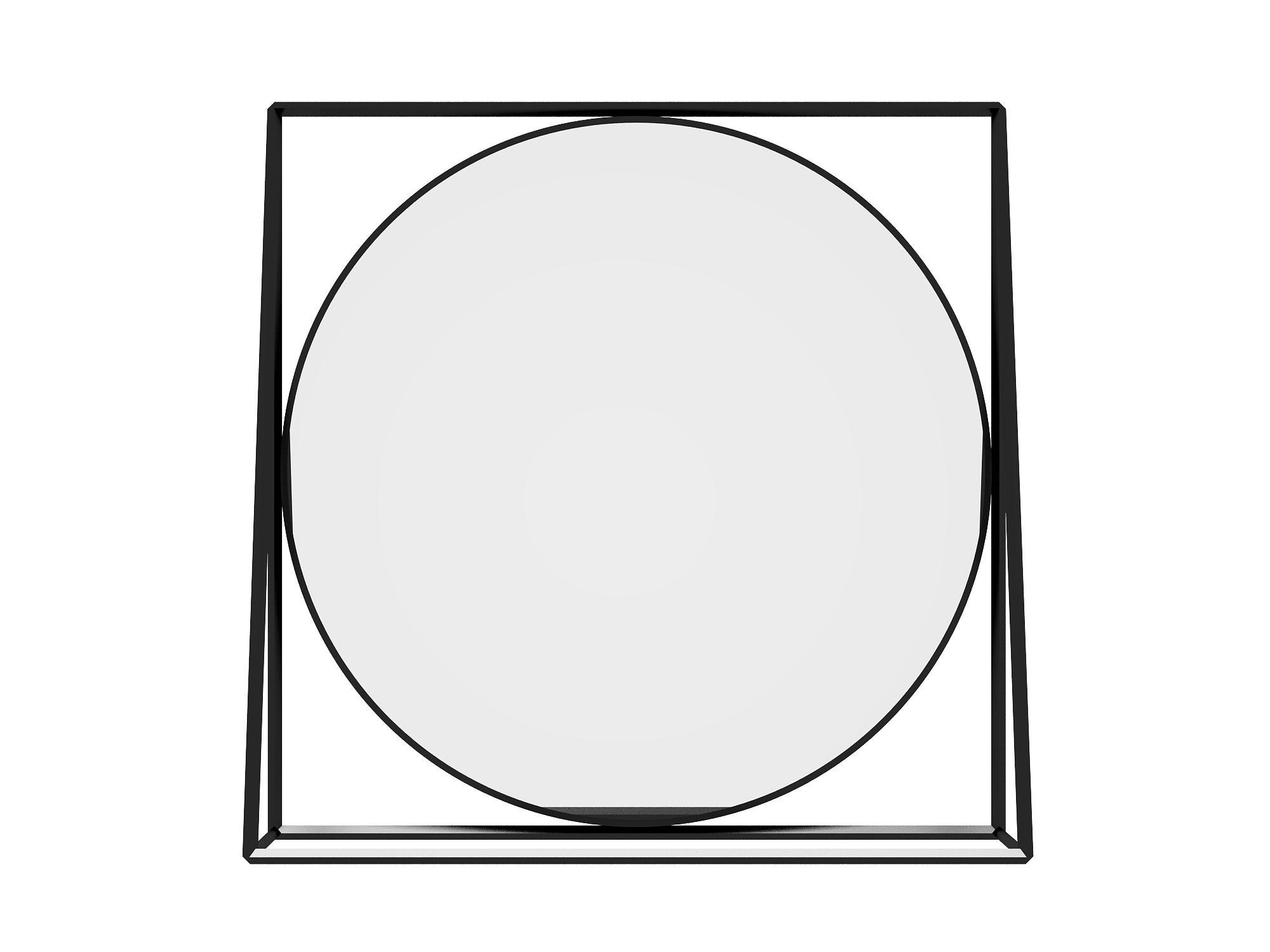 Зеркало FrameНастенные зеркала<br>Оригинальное зеркало в каркасе из металла изготовленное специально доя The Furnish. Этот образец любимого многими стиля лофт может оказаться как у вас в квартире, так и органично вписаться в интерьеры предприятий HoReCa. Мы ценим его универсальность.&amp;lt;div&amp;gt;&amp;lt;br&amp;gt;&amp;lt;/div&amp;gt;&amp;lt;div&amp;gt;&amp;lt;br&amp;gt;&amp;lt;/div&amp;gt;<br><br>Material: Металл<br>Ширина см: 90<br>Высота см: 90<br>Глубина см: 20