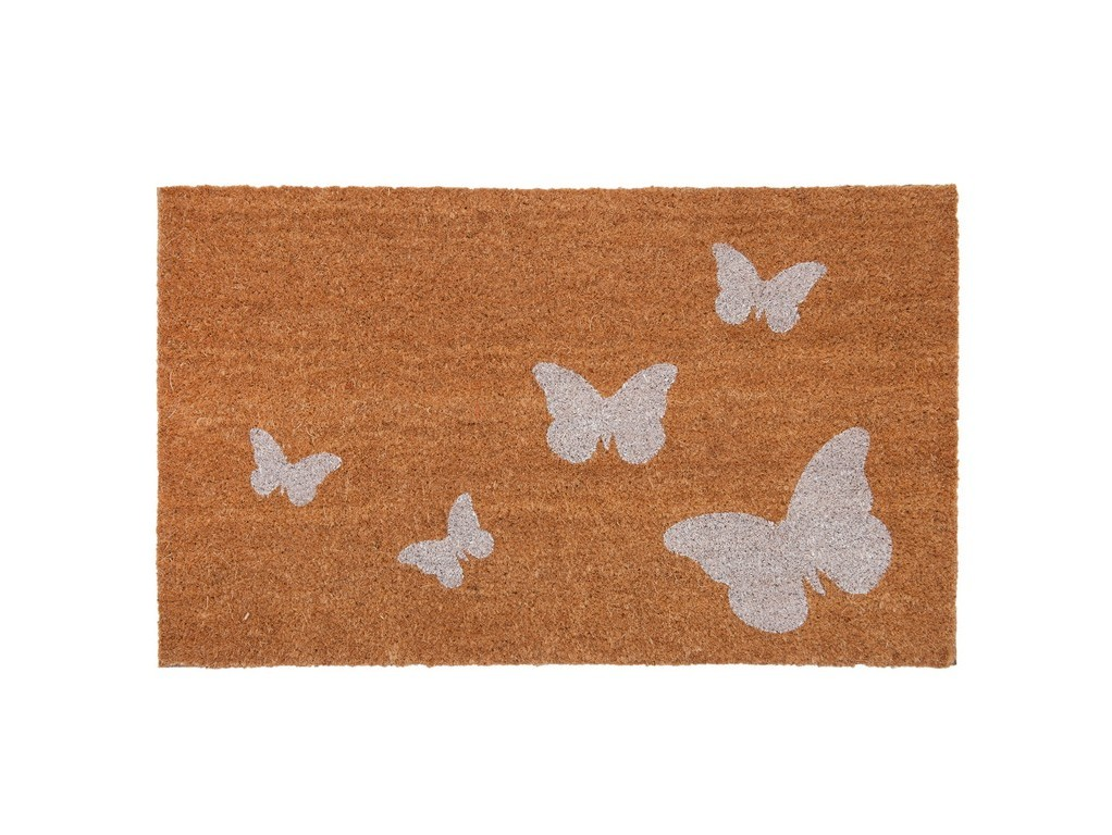 Дверной коврикПрямоугольные ковры<br><br><br>Material: Кокосовое волокно<br>Ширина см: 75.0<br>Высота см: 45.0<br>Глубина см: 1.0
