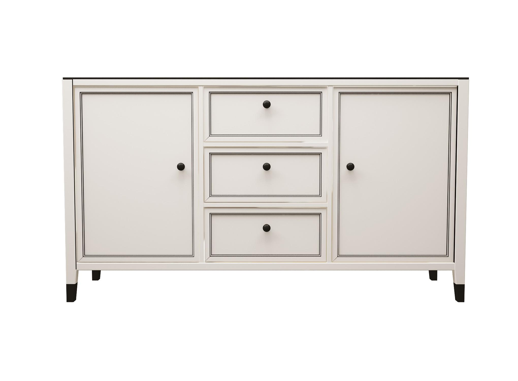 """Купить Комод """"vermont"""" (Myfurnish) белый мдф 150x90x40 см. 75171 в интернет магазине. Цены, фото, описания, характеристики, отзывы, обзоры"""