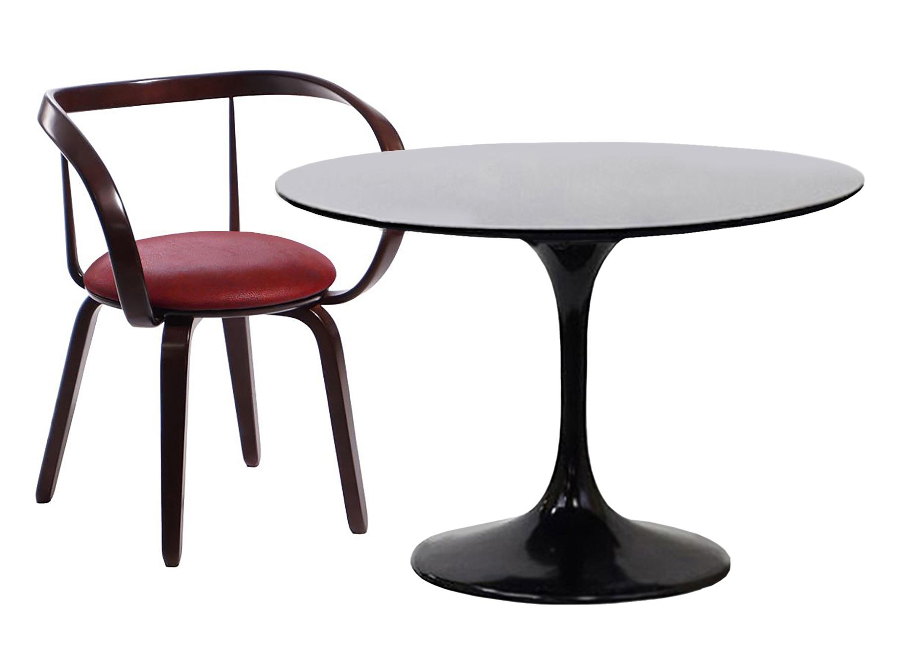 Обеденная группа Apriori TКомплекты для столовой<br>Обеденный круглый стол с лаконичным основанием из акрилового камня. <br>Стол в комплекте со стульями серии  Априори L. Такой яркий деревянный стул будет актуален для современного интерьера или стиля лофт. Он отлично подойдёт для дома, лоджии, сада, а также для кафе и баров.Размеры стола : 90/77 см.&amp;nbsp;Материал стола: акриловый камень&amp;nbsp;Размеры стула: 73х53х83см.&amp;nbsp;Материал стула: массив березы.<br><br>kit: None<br>gender: None