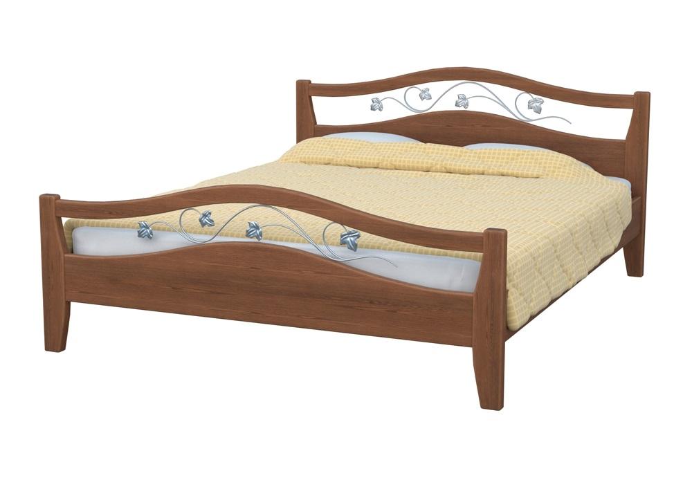 Кровать ВеронаДеревянные кровати<br>Красивая и оригинальная кровать с коваными элементами декора, прекрасно впишется как в классический, так и современный интерьер.&amp;amp;nbsp;&amp;lt;div&amp;gt;&amp;lt;br&amp;gt;&amp;lt;/div&amp;gt;&amp;lt;div&amp;gt;Кровать Верона может изготавливаться с одной или двумя спинками.&amp;lt;/div&amp;gt;&amp;lt;div&amp;gt;Модель оснащена прочным ортопедическим основанием из массива ценных пород древесниы бука или ясеня. Вся мебель покрывается высококачественным полиуретановым лаком (Италия), что защищает поверхность от царапин и прочих повреждений.&amp;amp;nbsp;&amp;lt;/div&amp;gt;&amp;lt;div&amp;gt;Размер спального места: 120x190.&amp;lt;div&amp;gt;Также доступны другие цвета: черный, белый, красный, оранжевый.&amp;amp;nbsp;&amp;lt;br&amp;gt;&amp;lt;/div&amp;gt;&amp;lt;/div&amp;gt;<br><br>Material: Бук<br>Ширина см: 129<br>Высота см: 101<br>Глубина см: 198