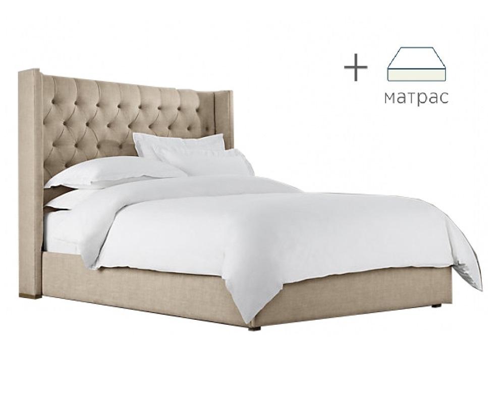 Кровать Maker с матрасомКровати + матрасы<br>&amp;lt;div&amp;gt;Выгодная скидка при покупке комплекта!&amp;lt;/div&amp;gt;&amp;lt;div&amp;gt;Кровать с ортопедическим матрасом &amp;quot;Ascona Terapia Quadra&amp;quot;.&amp;lt;/div&amp;gt;&amp;lt;div&amp;gt;&amp;lt;br&amp;gt;&amp;lt;/div&amp;gt;&amp;lt;div&amp;gt;Характеристики кровати:&amp;lt;/div&amp;gt;&amp;lt;div&amp;gt;Размер спального места: 160*200&amp;lt;/div&amp;gt;&amp;lt;div&amp;gt;Материалы: бук, текстиль&amp;lt;/div&amp;gt;&amp;lt;div&amp;gt;Варианты исполнения: более 200 цветов&amp;lt;/div&amp;gt;&amp;lt;div&amp;gt;&amp;lt;br&amp;gt;&amp;lt;/div&amp;gt;&amp;lt;div&amp;gt;Характеристики матраса:&amp;lt;/div&amp;gt;&amp;lt;div&amp;gt;Комфортный трикотаж с антибактериальной пропиткой с ионами Ag+.&amp;lt;/div&amp;gt;&amp;lt;div&amp;gt;Латекс.&amp;lt;/div&amp;gt;&amp;lt;div&amp;gt;Кокосовая плита.&amp;lt;/div&amp;gt;&amp;lt;div&amp;gt;5-ти зональный блок независимых пружин «Песочные часы Extra».&amp;lt;/div&amp;gt;&amp;lt;div&amp;gt;Короб по периметру из пены Orto Foam.&amp;lt;/div&amp;gt;&amp;lt;div&amp;gt;Максимальная нагрузка: до 140 кг&amp;lt;/div&amp;gt;&amp;lt;div&amp;gt;Высота: 25 см.&amp;lt;/div&amp;gt;&amp;lt;div&amp;gt;&amp;lt;br&amp;gt;&amp;lt;/div&amp;gt;&amp;lt;a href=&amp;quot;/shop/mebel/mebel-dlya-doma/krovati/krovati-s-maygkim-izgoloviem/26164-krovat-maker&amp;quot;&amp;gt;Купить отдельно кровать&amp;lt;/a&amp;gt;<br><br>Material: Текстиль<br>Ширина см: 183<br>Высота см: 142<br>Глубина см: 212