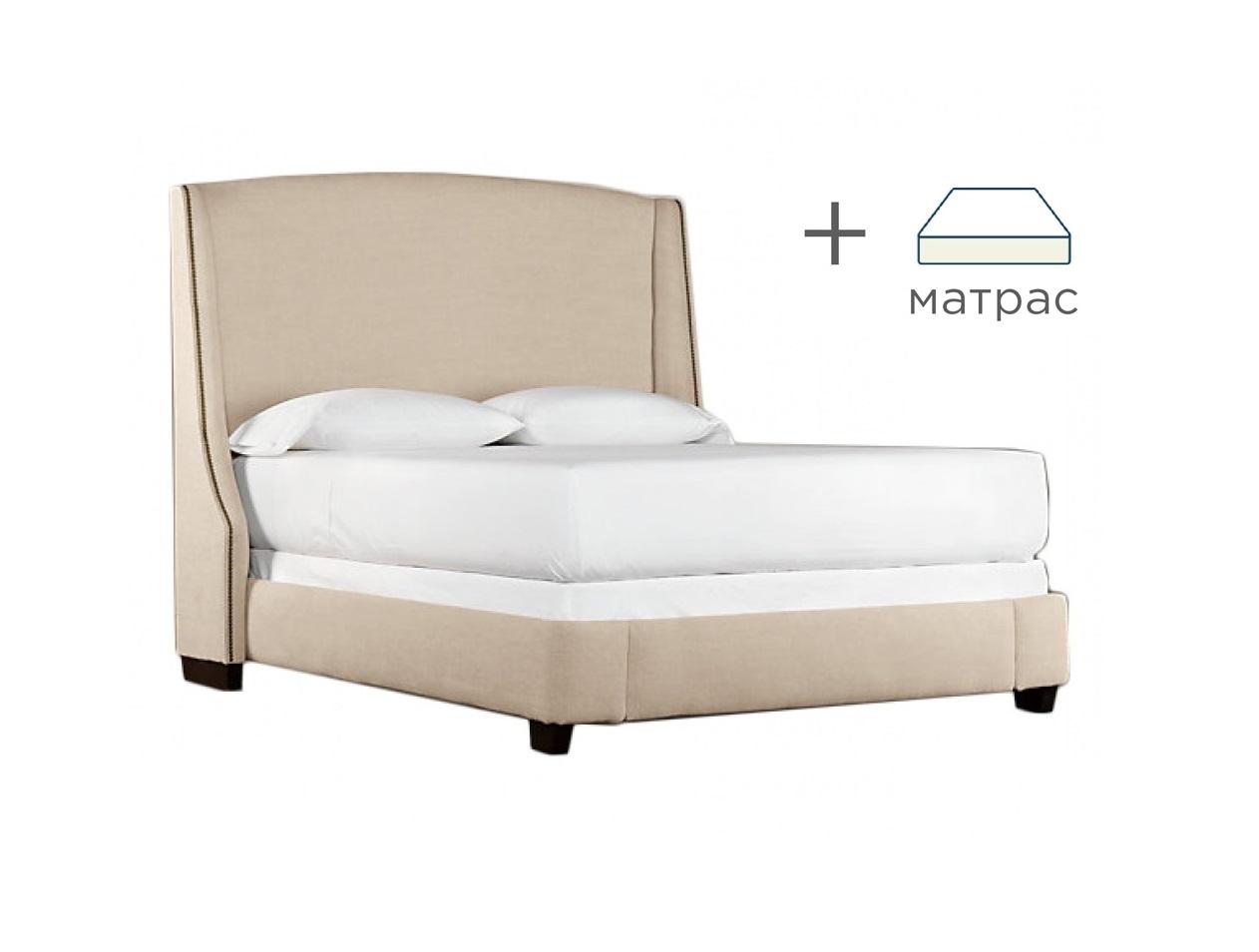 Кровать Hugo Lite с матрасомКровати + матрасы<br>&amp;lt;div&amp;gt;Выгодная скидка при покупке комплекта!&amp;lt;/div&amp;gt;&amp;lt;div&amp;gt;Кровать вместе с ортопедическим матрасом &amp;quot;Ascona Terapia Orient&amp;quot;.&amp;lt;/div&amp;gt;&amp;lt;div&amp;gt;&amp;lt;br&amp;gt;&amp;lt;/div&amp;gt;&amp;lt;div&amp;gt;Характеристики кровати:&amp;lt;/div&amp;gt;&amp;lt;div&amp;gt;Материалы: бук, текстиль&amp;lt;br&amp;gt;&amp;lt;/div&amp;gt;&amp;lt;div&amp;gt;Размер спального места: 160x200&amp;lt;/div&amp;gt;&amp;lt;div&amp;gt;&amp;lt;br&amp;gt;&amp;lt;/div&amp;gt;&amp;lt;div&amp;gt;Характеристики матраса:&amp;lt;/div&amp;gt;&amp;lt;div&amp;gt;&amp;lt;div&amp;gt;Прослойки из кокосовой койры;&amp;lt;/div&amp;gt;&amp;lt;div&amp;gt;Слои ортопедической пены Orto Foam с эффектом «памяти формы»;&amp;lt;/div&amp;gt;&amp;lt;div&amp;gt;По периметру матраса искусственный латекс;&amp;lt;/div&amp;gt;&amp;lt;div&amp;gt;Чехол с антибактериальной пропиткой и ионами серебра;&amp;lt;/div&amp;gt;&amp;lt;div&amp;gt;Пружинный блок: блок независимых пружин;&amp;lt;/div&amp;gt;&amp;lt;div&amp;gt;Жесткость: средняя;&amp;lt;/div&amp;gt;&amp;lt;div&amp;gt;Максимальная нагрузка: до 140 кг;&amp;lt;/div&amp;gt;&amp;lt;div&amp;gt;Высота: 25 см;&amp;lt;/div&amp;gt;&amp;lt;div&amp;gt;Зима/Лето: да.&amp;lt;/div&amp;gt;&amp;lt;/div&amp;gt;&amp;lt;div&amp;gt;&amp;lt;br&amp;gt;&amp;lt;/div&amp;gt;&amp;lt;a href=&amp;quot;/shop/mebel/mebel-dlya-doma/krovati/krovati-s-maygkim-izgoloviem/29699-krovat-hugo-lite&amp;quot;&amp;gt;Купить отдельно кровать&amp;lt;/a&amp;gt;<br><br>Material: Текстиль<br>Ширина см: 225<br>Высота см: 132<br>Глубина см: 177