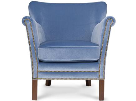 Кресло cas (myfurnish) голубой 68x75x70 см.