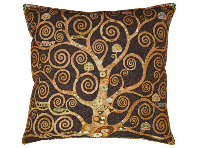 Подушка ДревоКвадратные подушки и наволочки<br>Декоративная подушка   со съемным чехлом на молнии из гобелена. Рекомендована бережная ручная стирка.<br><br>Material: Хлопок<br>Ширина см: 45.0<br>Глубина см: 45.0