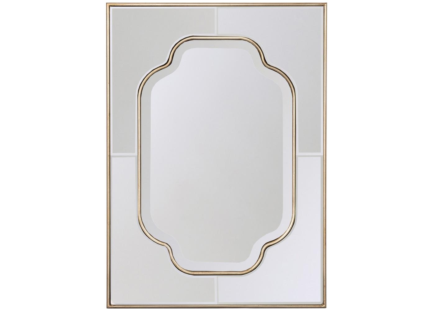 Настенное зеркало «Дельмир»Настенные зеркала<br>&amp;quot;Венецианскими&amp;quot; зеркалами называются дизайны, распространяющие зеркальный слой на всю поверхность, включая раму. Уникальная технология изобретена ещё в XVI веке стекольными мастерами венецианского острова Мурано, - отсюда и название. Такие дизайны, по определению, относятся к зеркальной элите, поскольку ручной процесс их производства кропотлив и дорог. Именно такое образное значение вносит в интерьер зеркало &amp;quot;Дельмир&amp;quot;, покоряющее благородным слиянием мягких оттенков золота и серебра. Умиротворяющая волнистая форма зеркала подчеркнута широкой фацетной гранью, придающей отражениям объем и глубину.<br><br>Material: Полиуретан<br>Ширина см: 59.0<br>Высота см: 81.0<br>Глубина см: 2.0