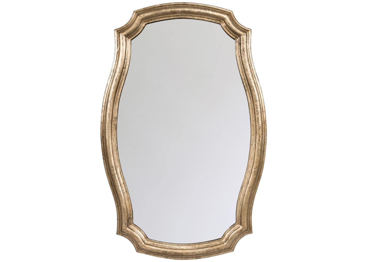 Настенное зеркало «Эвелин»Настенные зеркала<br>Старинная гербовая форма преображена вкусами современного английского модерна: строгость и благородство обретают атмосферную легкость и романтичность. Зеркало &amp;quot;Эвелин&amp;quot;, располагающее классическим дизайном, оптимальными размерами и сдержанным нейтральным цветом, обещает угодить разнообразным интерьерным жанрам и любому из домашних помещений. Рама изготовлена из полиуретана, - экологически безвредного, прочного и долговечного материала.<br><br>Material: Полиуретан<br>Ширина см: 66.0<br>Высота см: 101.0<br>Глубина см: 3.0