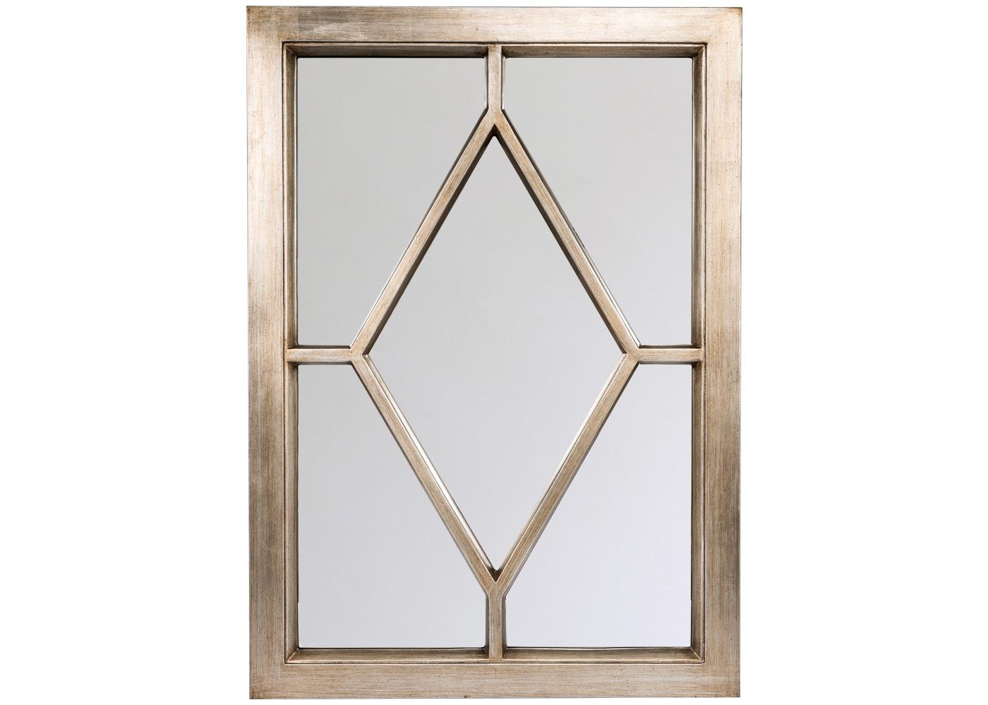 Настенное зеркало «Бедфорд»Настенные зеркала<br>Просторный размер зеркала &amp;quot;Бедфорд&amp;quot; соизмерим его широкому стилистическому диапазону. Строгая геометрия престижна для кельтского стиля и &amp;quot;модерна&amp;quot;, благоприятна английскому стилю, авангардным интерьерам &amp;quot;хай-тек&amp;quot; и &amp;quot;лофт&amp;quot;. Благородная прямоугольная база и матовый платиновый оттенок адресуют это зеркало любым домашним помещениям. Рама изготовлена из полиуретана, который достоверно имитирует любые материалы. На первый взгляд, оправа &amp;quot;Бедфорд&amp;quot; не отличается от металлической.<br><br>Material: Полиуретан<br>Ширина см: 76<br>Высота см: 107<br>Глубина см: 3.5