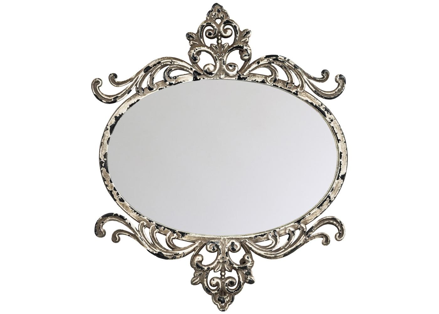 Настенное зеркало «Моджо»Настенные зеркала<br>Являясь прямым наследником французского классицизма, зеркало &amp;quot;Моджо&amp;quot; не чуждо интерьерам в жанрах ампира, ренессанса, барокко, рококо, романского стиля. Отдельная рекомендация - ультрамодному &amp;quot;лофту&amp;quot;, неравнодушному к искусно состаренным интерьерам. Приглушенные античные тона металлической оправы не только смягчают интерьерную гамму, но и уверенно сочетаются с любым окружающим фоном. Особым уютом располагает искусственная патина, рукописно украсившая тонкие грани роскошного дворцового узора.<br><br>Material: Металл<br>Ширина см: 40.0<br>Высота см: 33.0<br>Глубина см: 2.0
