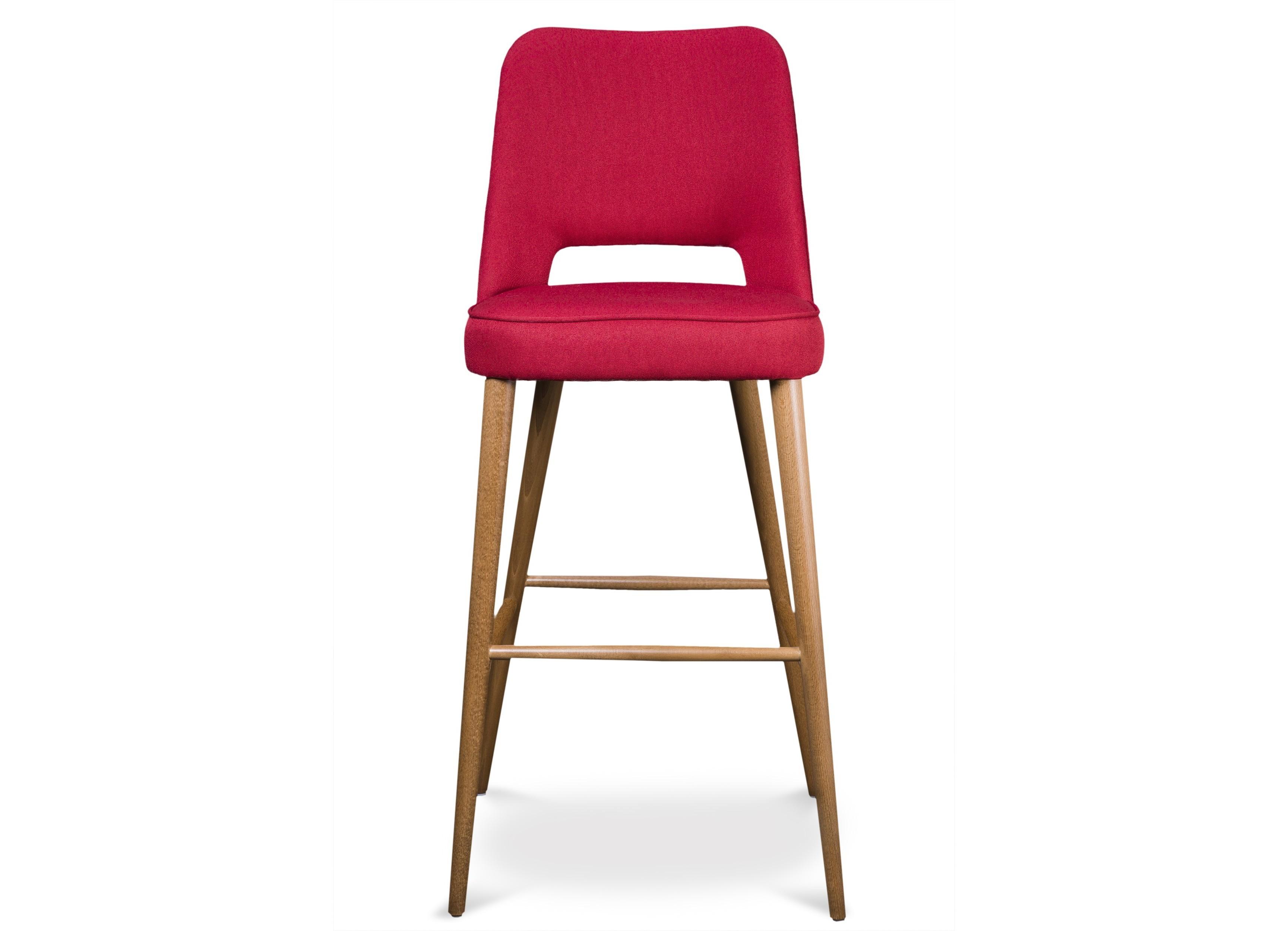 Комплект из 4 стульев aksel (myfurnish) розовый 47x111x52 см. фото