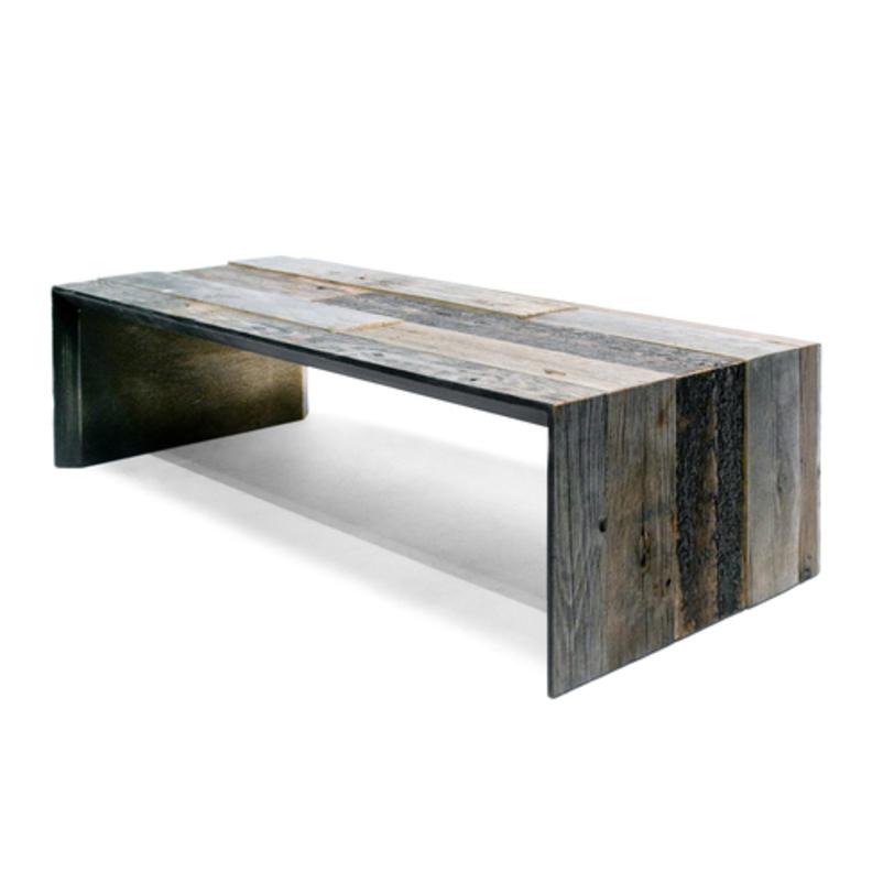 Cтол Oldwood StapleЖурнальные столики<br>Журнальный стол из деревянных панелей разных оттенков создает винтажный эффект. Ассиметричные швы на поверхности говорят об уникальности этого предмета. Можно использовать в интерьерах в стиле кантри и лофт.<br>Возможны различные варианты размера и отделки. Стоимость необходимо уточнять.<br>Срок изготовления: 4-5 недель.<br><br>Material: Дерево<br>Ширина см: 90<br>Высота см: 75<br>Глубина см: 60