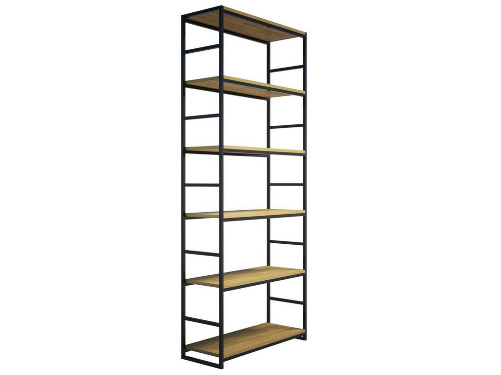 Стеллаж Metalframe OakСтеллажи и этажерки<br>Материалы: дубовый мебельный щит, стальная труба&amp;lt;br&amp;gt;Возможны устройство дополнительной полки, отверстия для крепления к стене, вырез под плинтус. На основание крепится мебельный войлок&amp;lt;br&amp;gt;&amp;lt;br&amp;gt;Стандартная высота: 200 см (шесть полок)&amp;lt;br&amp;gt;Стандартная ширина: 60 см&amp;lt;br&amp;gt;Стандартная глубина: 30 см&amp;lt;br&amp;gt;Возможны другие варианты<br><br>Material: Металл<br>Ширина см: 60<br>Высота см: 200<br>Глубина см: 30