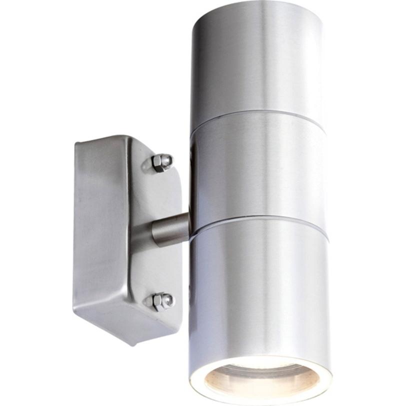 Уличный светильник StyleУличные настенные светильники<br>Предназначен для освещения веранд и участков. Отлично работает при любых температурах.&amp;lt;div&amp;gt;&amp;lt;br&amp;gt;&amp;lt;/div&amp;gt;&amp;lt;div&amp;gt;Степень пыле-влагозащиты: IP44&amp;amp;nbsp;&amp;lt;div&amp;gt;&amp;lt;span style=&amp;quot;line-height: 1.78571;&amp;quot;&amp;gt;Вид цоколя: GU10. Мощность: 35W. Количество ламп: 2.&amp;lt;/span&amp;gt;&amp;lt;br&amp;gt;&amp;lt;/div&amp;gt;&amp;lt;/div&amp;gt;<br><br>Material: Сталь<br>Length см: 17<br>Height см: 11<br>Diameter см: 6