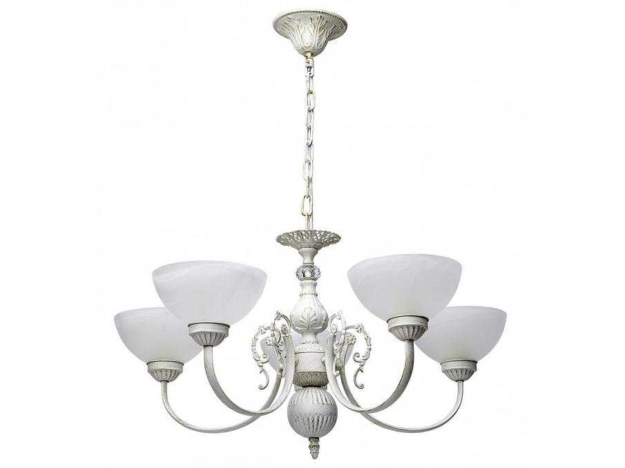Подвесная люстра НораЛюстры подвесные<br>Вид цоколя: E14Мощность: 60WКоличество ламп: 5 (нет в комплекте)