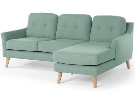 Угловой модульный диван olly (myfurnish) бирюзовый 204x83x132 см.