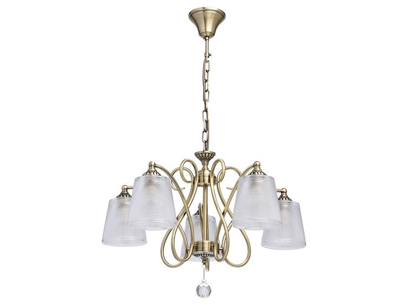 Подвесная люстра МоникаЛюстры подвесные<br>Вид цоколя: E14Мощность: 40WКоличество ламп: 5 (нет в комплекте)
