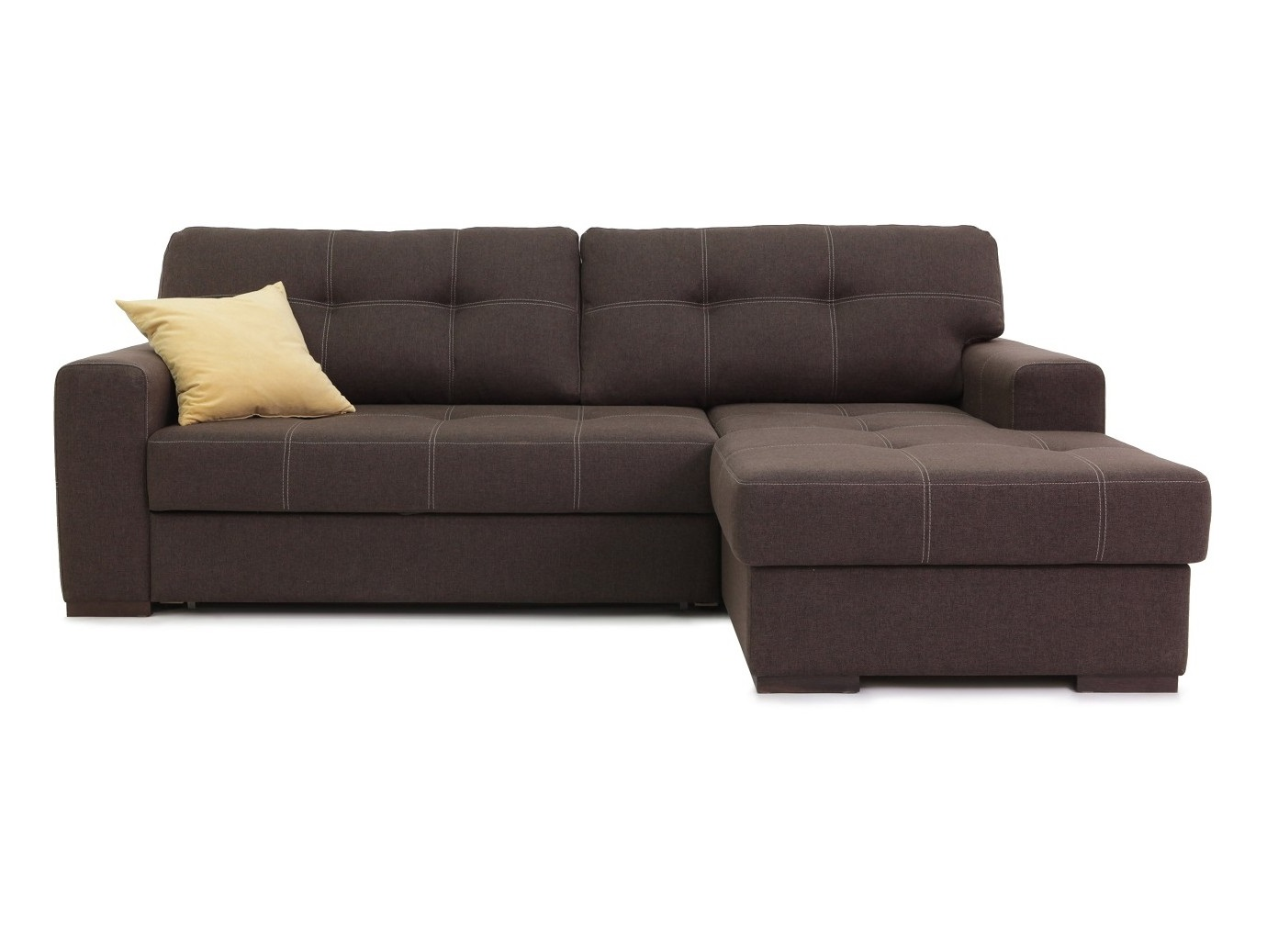 Диван БарниУгловые раскладные диваны<br>Угловой диван &amp;quot;Барни&amp;quot; создан для полноценного комфортного отдыха как днем, так и ночью! Оригинальная простота и строгость форм подчеркнут практически любой интерьер и добавят ему изысканный вид! А широкая и удобная оттоманка позволит расслабится и вытянуть ноги после тяжелого, рабочего дня!&amp;amp;nbsp;&amp;lt;div&amp;gt;&amp;lt;br&amp;gt;&amp;lt;/div&amp;gt;&amp;lt;div&amp;gt;Декоративные подушки в комплект не входят.&amp;amp;nbsp;&amp;lt;/div&amp;gt;&amp;lt;div&amp;gt;Большой выбор обивочных тканей (подробности уточняйте у менеджера).&amp;lt;/div&amp;gt;<br><br>Material: Текстиль<br>Ширина см: 249<br>Высота см: 95<br>Глубина см: 177