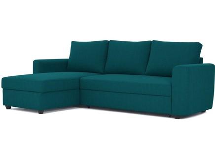 Угловой диван-кровать marble (myfurnish) зеленый 243x83x152 см.