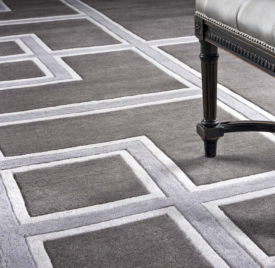КоверПрямоугольные ковры<br>Ковер Carpet Burban выполнен из 100% новозелландской шерсти. Ручная работа.<br><br>Material: Текстиль