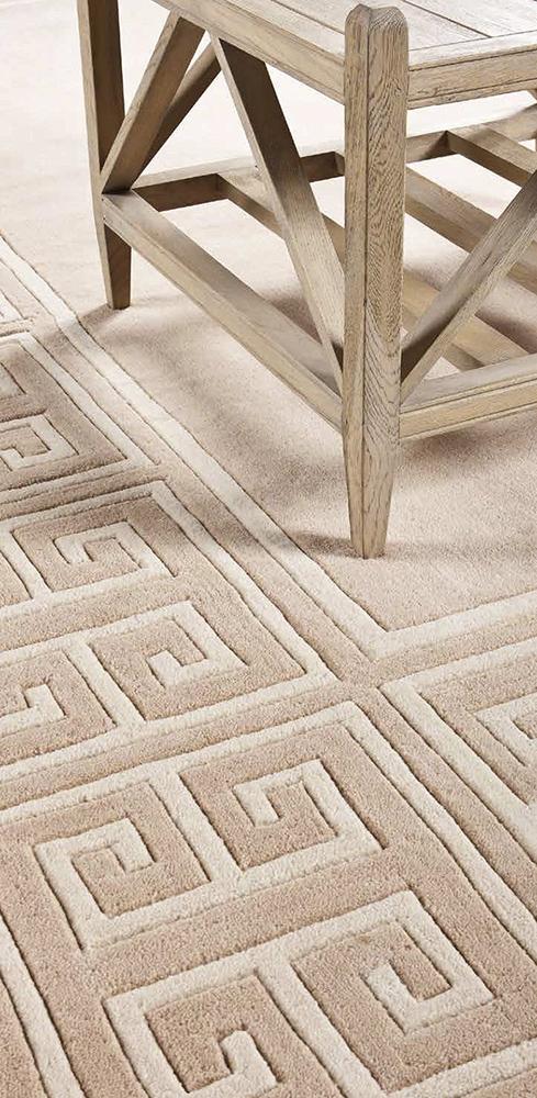 КоверПрямоугольные ковры<br>Ковер Carpet Apollo выполнен из 100% новозелландской шерсти. Ручная работа.<br><br>Material: Шерсть