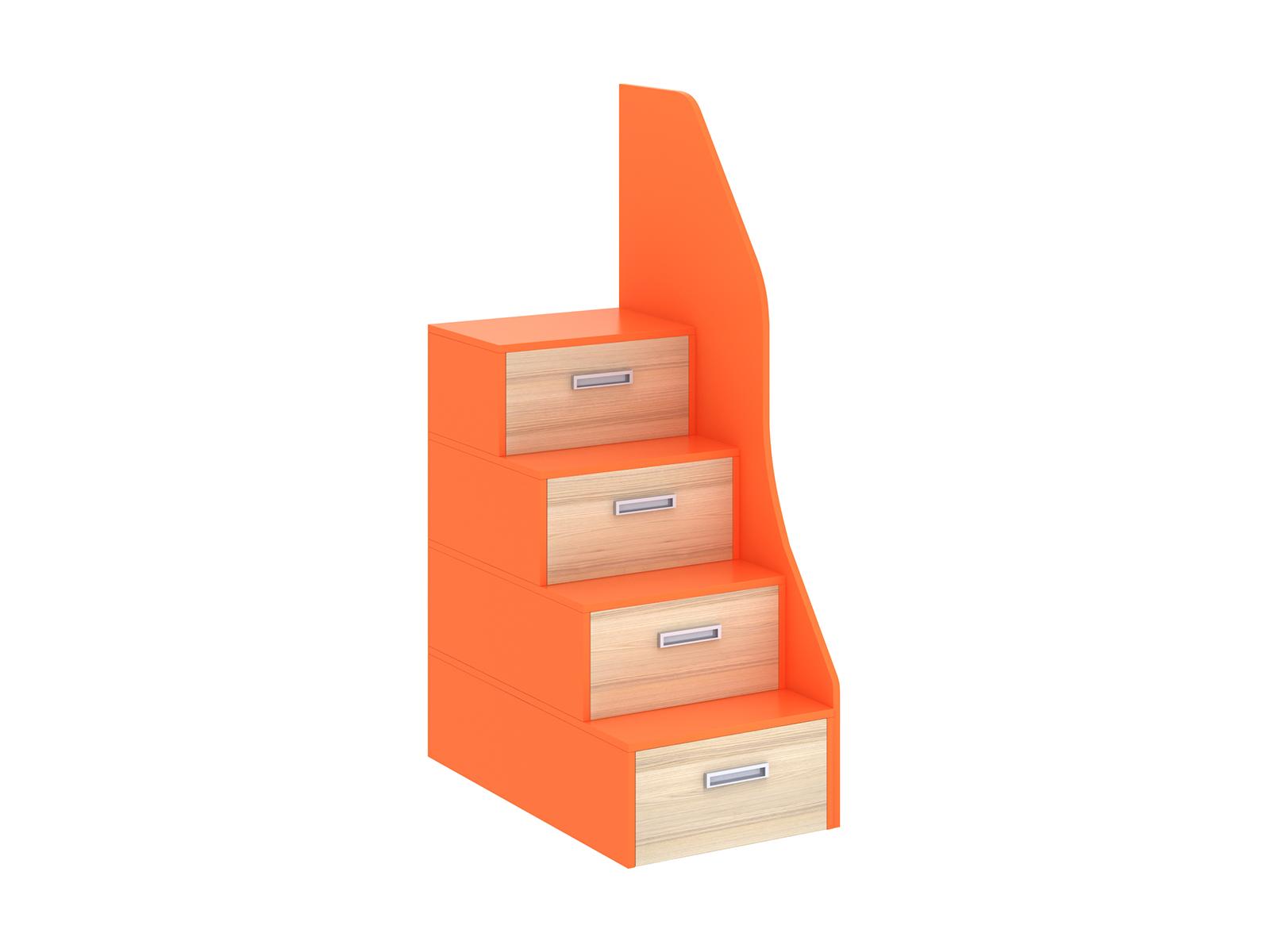 Лестница-комод PinokkioДетские комоды<br>Лестница идёт в дополнение к секции для двухъярусной кровати.&amp;amp;nbsp;&amp;lt;div&amp;gt;В ступеньках лестницы размещаются выдвижные ящики.&amp;lt;/div&amp;gt;<br><br>Material: ДСП<br>Ширина см: 60<br>Высота см: 172<br>Глубина см: 106