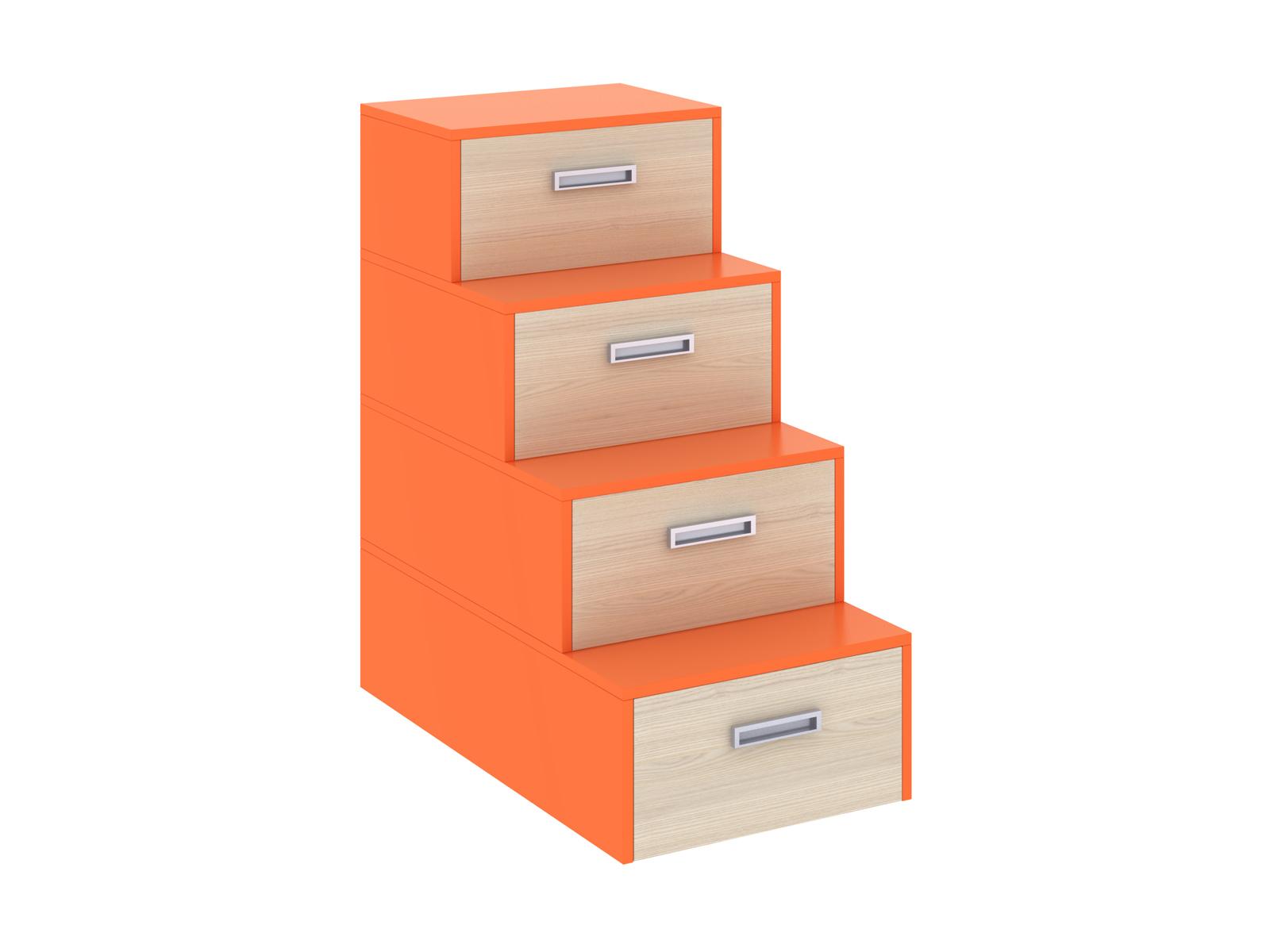 Лестница-комод PinokkioДетские комоды<br>Лестница идёт в дополнение к секции для двухъярусной кровати.&amp;amp;nbsp;&amp;lt;div&amp;gt;В ступеньках лестницы размещаются выдвижные ящики.&amp;amp;nbsp;&amp;lt;/div&amp;gt;<br><br>Material: ДСП<br>Ширина см: 58<br>Высота см: 111<br>Глубина см: 106