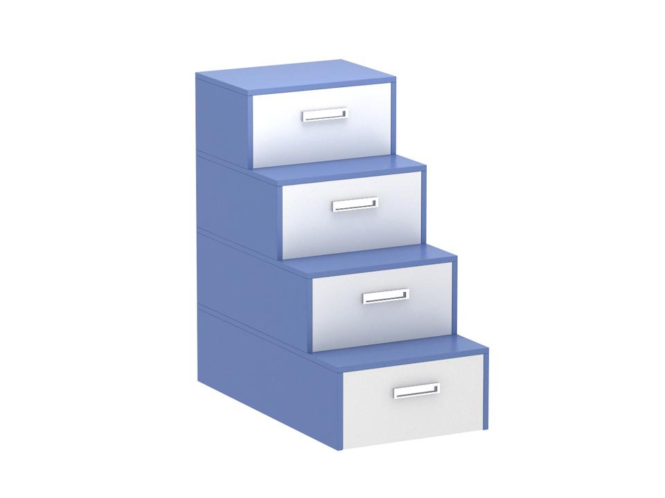 Лестница-комод PinokkioДетские комоды<br>Лестница идёт в дополнение к секции для двухъярусной кровати.&amp;amp;nbsp;&amp;lt;div&amp;gt;В ступеньках лестницы размещаются выдвижные ящики.&amp;amp;nbsp;&amp;lt;/div&amp;gt;<br><br>Material: ДСП<br>Ширина см: 58<br>Высота см: 111.0<br>Глубина см: 106.0