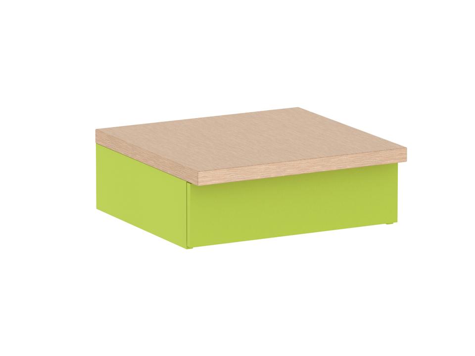 Тумба PinokkioТумбы и сундуки для детской<br>Тумба прикроватная с выдвижным ящиком.<br><br>Material: ДСП<br>Ширина см: 70<br>Высота см: 25<br>Глубина см: 67