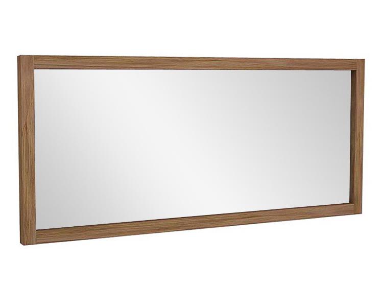 ЗеркалоНастенные зеркала<br>Классическая прямоугольная форма зеркала подчеркивает его строгий облик. Массивные линии и отсутствие декора хотя и делают образ аскетичным, но не лишают его главного – красоты и природной гармонии. Рама, выполненная из массива тика, придает предмету натуральный оттенок. Благодаря простому дизайну, это зеркало дополнит любой интерьер. А влагостойкие характеристики дерева позволяют использовать модель в ванной или сауне.<br><br>Material: Тик<br>Ширина см: 160<br>Высота см: 70<br>Глубина см: 4