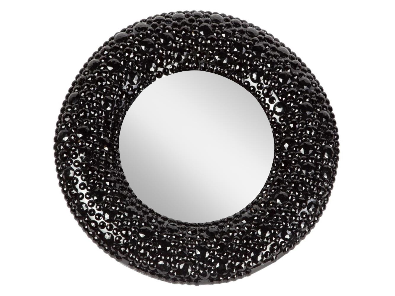Зеркало Black PearlНастенные зеркала<br>В этом зеркале дизайнеры искусно совместили отголоски глянцевого гламура, сдержанную роскошь вечно актуального Ар-Деко и современные модные тенденции – мягкую геометрию, облаченную в ненавязчивый блеск. Вы можете окружить Black Pearl мебелью и аксессуарами на свой вкус – позолоченным барокко или строгим минимализмом – такая деталь гармонично вольется в любой предложенный стиль.<br><br>Material: Пластик<br>Глубина см: 6