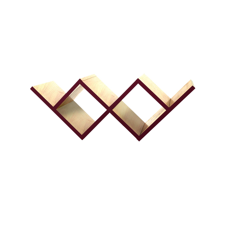 Полка для гостиной Woo ShelfПолки<br>&amp;lt;div&amp;gt;Необычная конструкция книжной полки Woo Shelf позволяет легко размещать ее как на стене, так и на горизонтальной поверхности. Книжная полка прекрасно подходит для хранения книг или других предметов.&amp;amp;nbsp;&amp;lt;/div&amp;gt;&amp;lt;div&amp;gt;&amp;lt;br&amp;gt;&amp;lt;/div&amp;gt;&amp;lt;div&amp;gt;Полка изготовлена из МДФ и покрыта натуральным дубовым шпоном, торцы полки окрашены в цвета из палитры Woodi Furniture. Woo Shelf представлена в двух размерах.&amp;amp;nbsp;&amp;lt;/div&amp;gt;&amp;lt;div&amp;gt;&amp;lt;br&amp;gt;&amp;lt;/div&amp;gt;&amp;lt;div&amp;gt;&amp;lt;br&amp;gt;&amp;lt;/div&amp;gt;<br><br>Material: МДФ<br>Ширина см: 90.0<br>Высота см: 30.0<br>Глубина см: 30.0